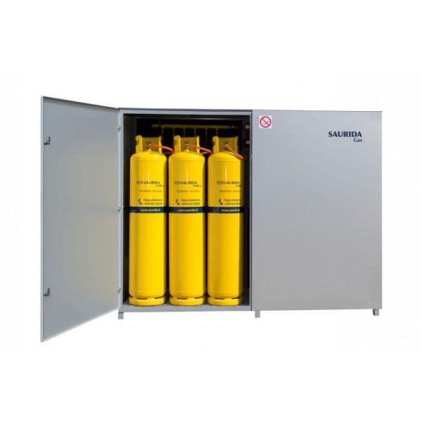 SUSKYSTINTŲ DUJŲ TIEKIMO SISTEMA SAURIDA GAS, 24 BALIONAMS, 6 KG/H