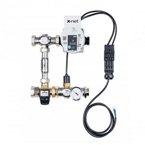 Temperatūros valdymo mazgas KERMI xnet Standard ECM grindų šildymo sistemai SFERSS00003