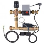 Temperatūros valdymo mazgas KERMI xnet Standard ECM grindų šildymo sistemai
