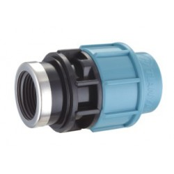 Plastikinis PE sujungimas su vidiniu sriegiu  D32x3/4