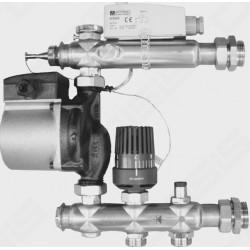 Pamaišymo mazgas grindininiam šildymui FRӒNKISCHE (siurblys Grundfos UPSO 15-60)