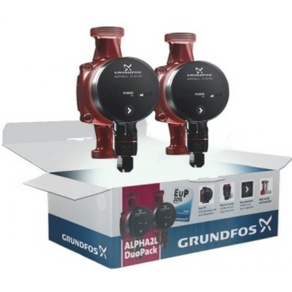 Cirkuliaciniai siurbliai Grundfos Alpha2 L  25 - 60 180 DUOPACK