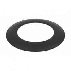 Dekoratyvinis žiedas D160 juodas