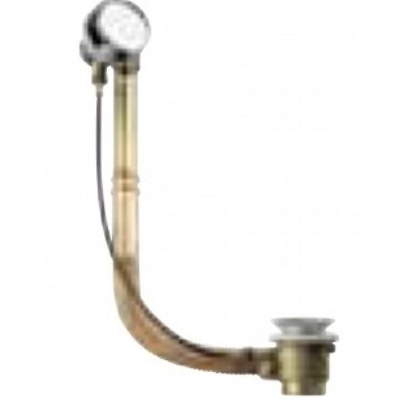 Automatinis vonios sifonas R96, žalvarinis REMER